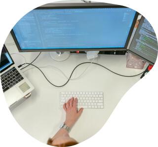 DevOps engineer configures cloud service
