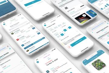 Mobile worker app for shifts management