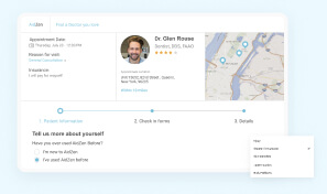Appointment check-in flow user experience