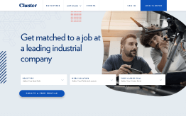 Web app for job search in space engineering sector