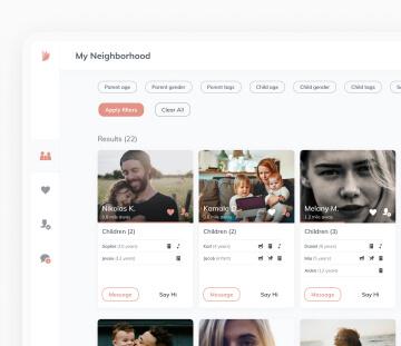Social network for children education