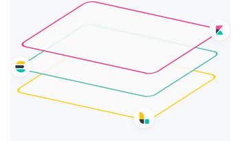 Visual representation for elk stack
