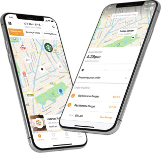 Developing a mobile food delivery app
