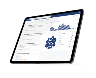 Dashboard for content analytics